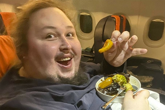 Что ест на завтрак 250-килограммовый сын Никаса Сафронова