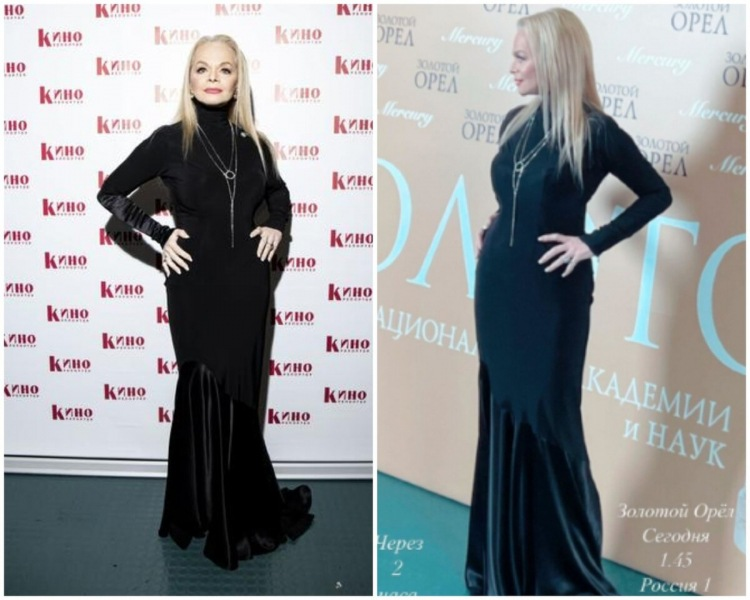 Классика и экстравагантность: образы актрис на вручении премии «Золотой Орел - 2021»